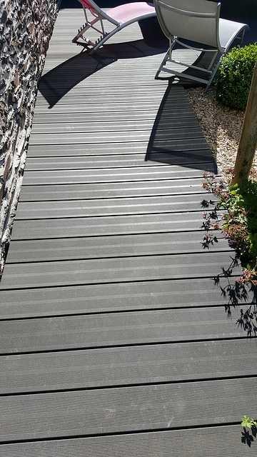 Lavage terrasse bois composite 8