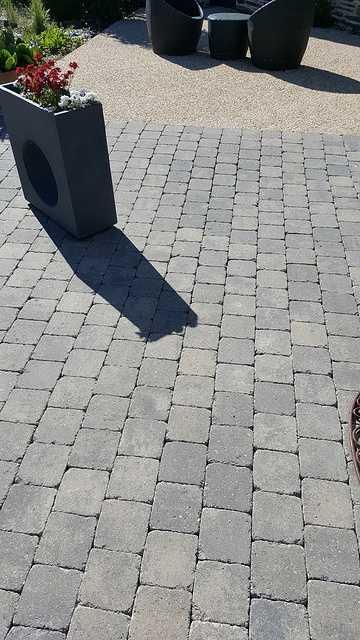 Nettoyage des pavés autobloquants 4